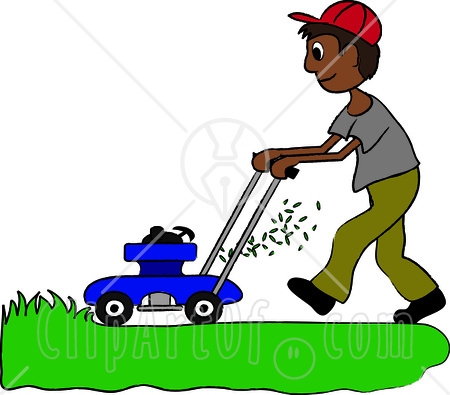 labor vs professional service  and the people who fill free lawn mower clipart images Free Picture of Lawn Service
