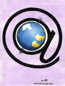 a picture representing globalization